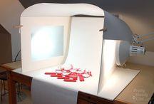 Light studio set box
