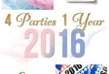 PARTIES - decor & ideas