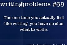 Writer´s problems