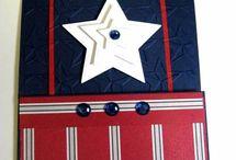 Military / Patriotic  / card ideas etc. / by Nicole