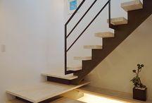 素敵な鉄骨階段