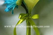 Lime Green and Turquoise Weddings