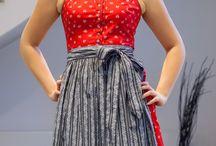 Almsach Dirndl - Baumwolle, klassisch, frech oder hochgeschlossen / Neue Looks exklusiv für sie zusammengestellt :-)