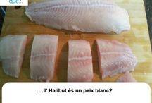 Halibut/ Halibut / Aquí trobaràs curiositats sobre l'halibut / Aquí encontrarás curiosidades sobre el halibut