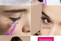 False Lashes  / The way to impressive make-up results is paved with Bourjois products