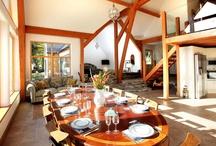 Dining at Knoydart House / Dining at Knoydart House