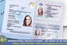 Đổi bằng lái xe máy sang quốc tế