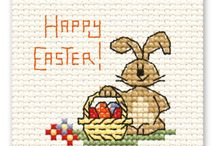 Mini Easter Cross Stitch
