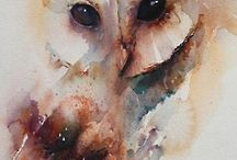 woodland watercolor / A visual compilation of all things woodland and watercolor inspired.