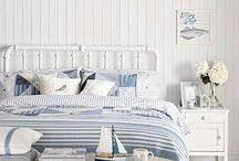 Beach Bedrooms / Coastal Bedrooms  for inspiration, for sleep and a love of the beach