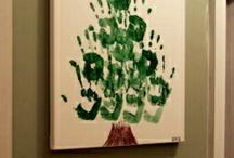 xmas foot handprint ideas