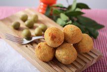 BOCCONCINI ALL'ASCOLANA GIRARROSTI SANTA RITA / La nostra rivisitazione delle famose olive ascolane / Our reinterpretation of the famous stuffed olives