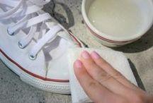 Schuhe sauber