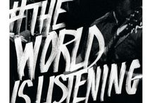 The World Is Listening / The 55th GRAMMY Awards Campaign from 2013 / by The GRAMMYs
