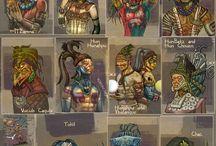 Los creadores mayas / deidades, dioses y demás mitos mayas.