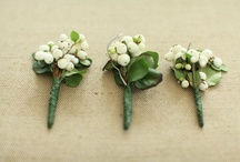 buttonaires/bouquets / by Sharon's Bridal