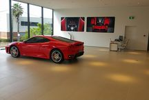 Ferrari Showroom - Brisbane