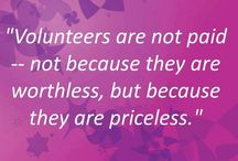 Volunteers are Priceless