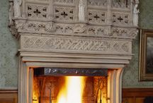 Gothic - Tudor Fireplace and Accessories