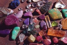 Crystals,rocks and minerals
