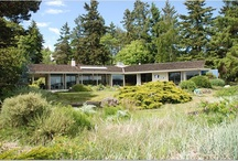 my midcentury modern house / My house is on a beach on an island in the Pacific Northwest. It was built in 1960. I'm trying to keep the midcentury vibe alive. / by Susan Wiggs