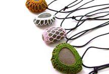 石・木・たまご・・・Crochet