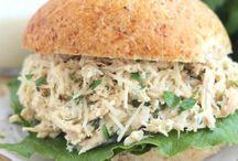 Sandwich poulet césar dans la mijoteuse