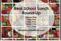 Lunch Box Inspiration / Packing real food, nourishing lunches for the kiddos!