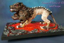 Fantastic Creatures Challenge.. Cerberus.. Höllenhund