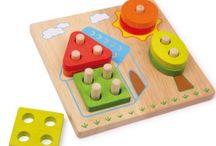 Didaktické hračky / Pomocu didaktických hračiek sa deti učia hravou formou. Hrou s didaktickými hračkami si osvojuje dieťa nové zručnosti, poznatky a motivuje k tvorivosti. Viac na: www.eduhracky.sj