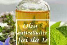 Olio per cellulite