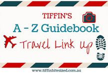 A-Z Guidebook Travel Link Up / The A-Z of world destinations - around the globe or around the corner. As seen by bloggers joining the A-Z Guidebook Travel Link Up on TIFFIN - bit sized food adventures -  www.tiffinbitesized.com.au/a-z-guidebook-travel-link-up/