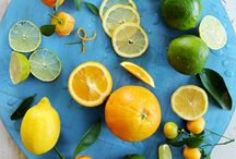 Current Project Moodboard / Aqua, lime, yellow &circles / by Mercurelli's Garden Design (Noemi Mercurelli)
