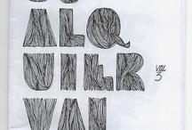 Typografi/Lettering