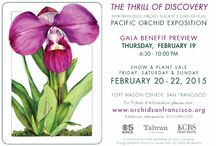 Pacific Orchid Expo 2015 / Pacific Orchid Expo 2015 Fort Mason, San Francisco February 19th to 22nd