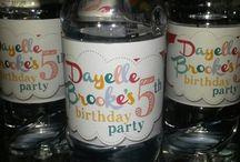 Dayelle - Brookes rainbow party