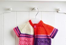 Kids' Garments: Knitting & Crochet Patterns / There are lots of lovely knitting and crochet patterns out there for kids' clothes - here are some of our favourites...