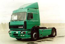 R Russian Trucks - LIAZ / Trucks of the Russian brand LIAZ.