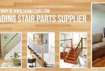 Solution Stair Parts from Shaw Stairs, One of the UKs Leading supplier of Solution Stair parts, Handrails, chrome, brushed nickel contemporary stairparts ranges. / Solution stair parts combine #contemporary designs and traditional high quality timbers; exclusive to Shaw #Stairs Ltd. #solutionstairparts