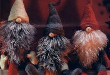 gnomes / These mystical secrative little people who stay hidden from everyone but fairies.  Watch closely and they appear. Watch even closer and poof they are gone. / by Louise Goldman