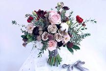 Lavender wedding floral