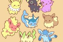 Pokemon| Evoli et ses Evolution
