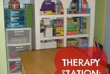 Organizing: Special Needs / Organizing for children with special needs: Therapy stations, paper, bedrooms, binders, before and after pictures and more.