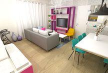 décorateur salon idées déco / Découvez les salons aménagés par le décorateur en ligne Plus de projets ici >>> http://www.e-interiorconcept.com