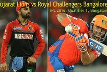 Gujarat Lions v Royal Challengers Bangalore, IPL 2016,Qualifier 1