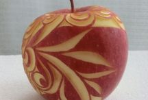 carving jabĺčka