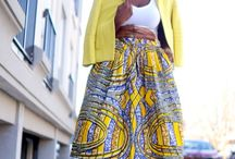 African Print Skirtkayler