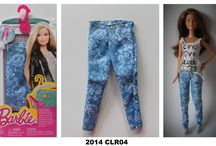 2014 Barbie Doll Fashion Packs