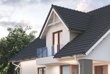 Z PODDASZEM - Nasze Domy / Kolekcja wybranych domów z poddaszem pracowni Domowe Klimaty
