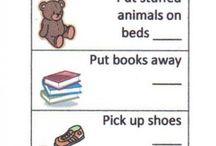 Kids chart and chore